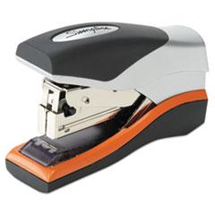 Optima 40 Compact Stapler, 40-Sheet Capacity, Black/Silver/Orange