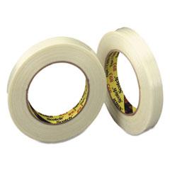 """Filament Tape, 24mm x 55m, 3"""" Core, Clear"""