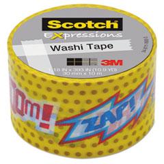 "Expressions Washi Tape, 1.18"" x 393"", POW!"