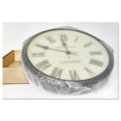 """Bubble Wrap® Cushioning Material, 5/16"""" Thick, 12"""" Slit, 48"""" x 250 ft."""