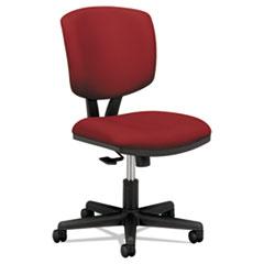 Volt Series Task Chair with Synchro-Tilt, Crimson Fabric