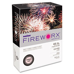 FIREWORX Colored Cover Stock, 65 lbs., 8-1/2 x 11, Powder Pink, 250 Sheets