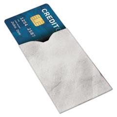RFID Blocking Sleeve, 3 3/4 x 2, Vertical/Horizontal, White, 10/PK