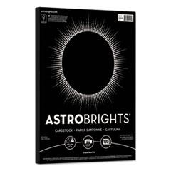 Color Cardstock, 65lb, 8.5 x 11, Eclipse Black, 100/Pack