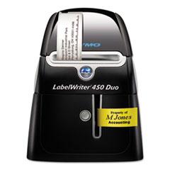LabelWriter 450 DUO Label Printer, 71 Labels/min Print Speed, 5.5 x 7.8 x 7.3