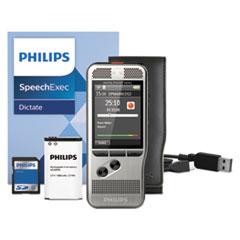 Pocket Memo 6000 Digital Recorder, Push Button, 2GB, Silver