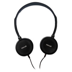 HP-200 Stereo Headphones, Silver