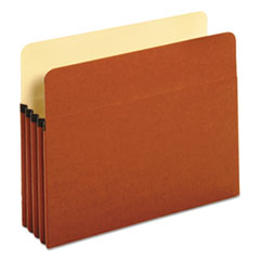 """Redrope Expanding File Pockets, 3.5"""" Expansion, Letter Size, Redrope, 25/Box"""
