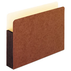 """Redrope WaterShed Expanding File Pockets, 5.25"""" Expansion, Letter Size, Redrope"""