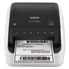 "Wide Format Label Printer, 6.7"" x 8.7"" x 5.9"", 255 Labels"