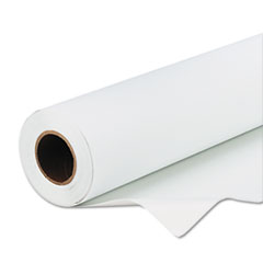 "Scrim Banner Paper for Indoor/Outdoor Signage, 24"" x 50 ft, White"