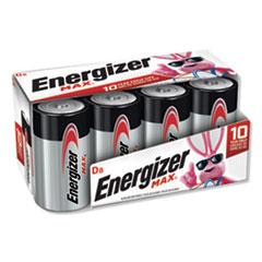 MAX Alkaline D Batteries, 1.5V, 8/Pack