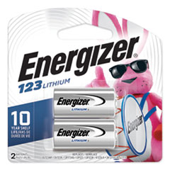 123 Lithium Photo Battery, 3V, 2/Pack