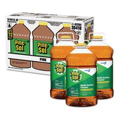 Multi-Surface Cleaner Disinfectant, Pine, 144oz Bottle, 3 Bottles/Carton