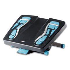 Energizer Foot Support, 17.88w x 13.25d x 6.5h, Charcoal/Blue/Gray