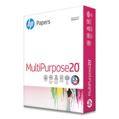 MultiPurpose20 Paper, 96 Bright, 20lb, 8.5 x 11, White, 500/Ream
