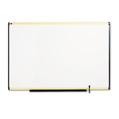 Total Dry Erase Board, 72 x 48, White, Maple Frame