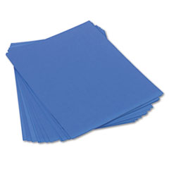 Tru-Ray Construction Paper, 76 lbs., 18 x 24, Blue, 50 Sheets/Pack