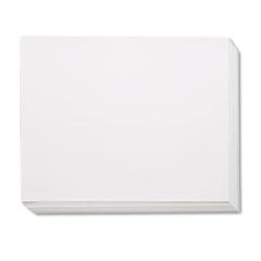 Four-Ply Railroad Board, 22 x 28, White, 100/Carton