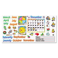 """Monthly Calendar (with Cling) Bulletin Board Set, 22"""" x 17"""""""