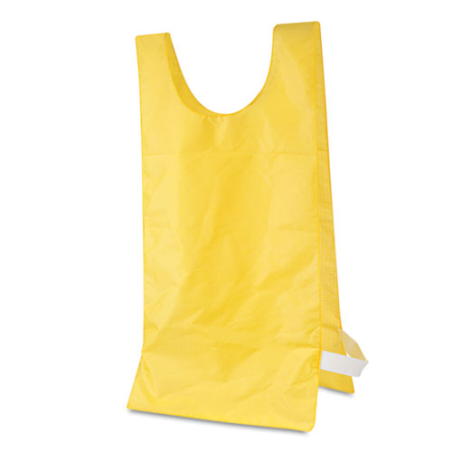 Image for Heavyweight Pinnies, Nylon, One Size, Gold, 12/box
