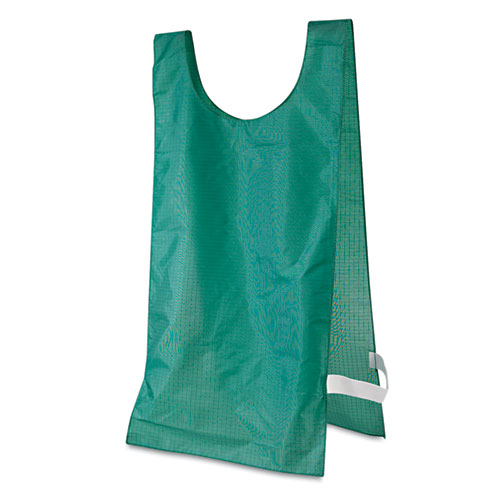 Image for Heavyweight Pinnies, Nylon, One Size, Green, 12/box