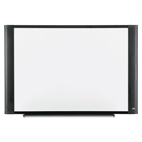 Melamine Dry Erase Board, 72 X 48, Graphite Frame