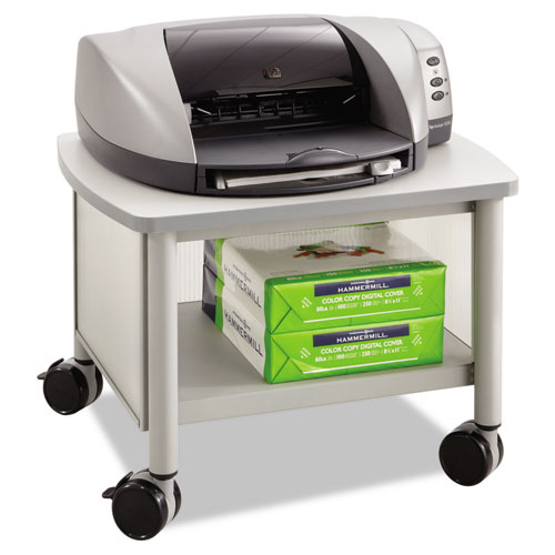 Image for IMPROMPTU UNDER TABLE PRINTER STAND, 20.5W X 16.5D X 14.5H, GRAY