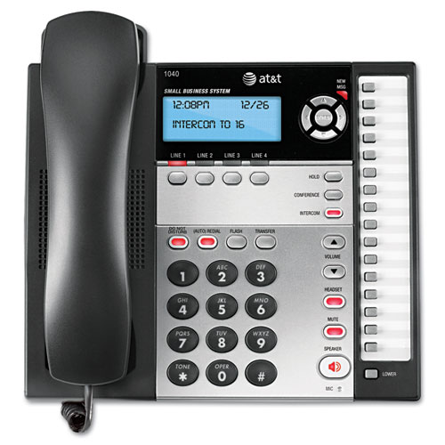 Image for 1040 Corded Four-Line Expandable Telephone