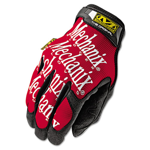 Mechanix Wear, Inc Mechanix Wear Gloves - 10 Size Number - Large Size - Leather - Red - Safety Cuff - 2 / Pair
