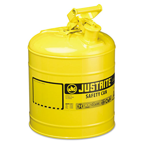 Image for Safety Can, Type I, 5gal, Yellow