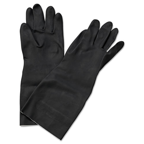 Neoprene Flock-Lined Gloves, Long-Sleeved, 12
