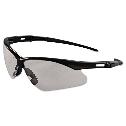 Nemesis Safety Glasses, Black Frame, Clear Anti-Fog Lens
