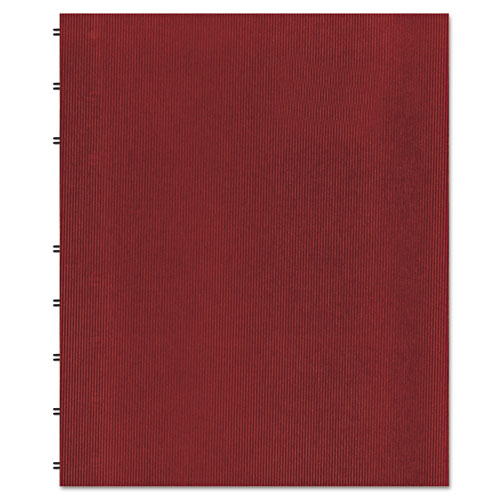 MIRACLEBIND NOTEBOOK, 1 SUBJECT, MEDIUM/COLLEGE RULE, RED COVER, 11 X 9.06, 75 SHEETS