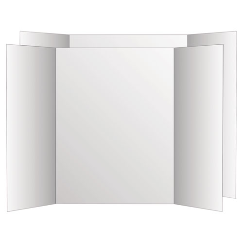 Geographics, Llc Geographics Royal Brites Project Board - 48 (4 Ft) Width X 36 (3 Ft) Height - White Surface - Rectangle - 6 / Carton