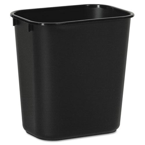 Image for SOFT-SIDED WASTEBASKET, 14 QT, PLASTIC, BLACK
