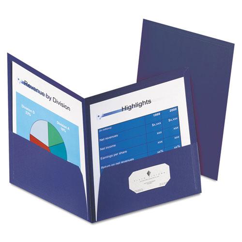 Honeycomb High-Capacity Twin Pocket Folders, 1