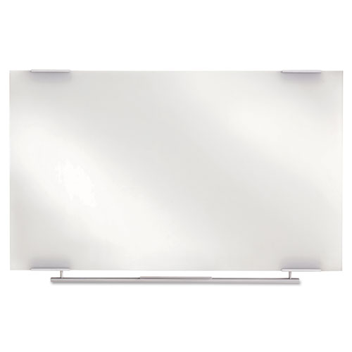 Clarity Glass Dry Erase Boards, Frameless, 48 X 36