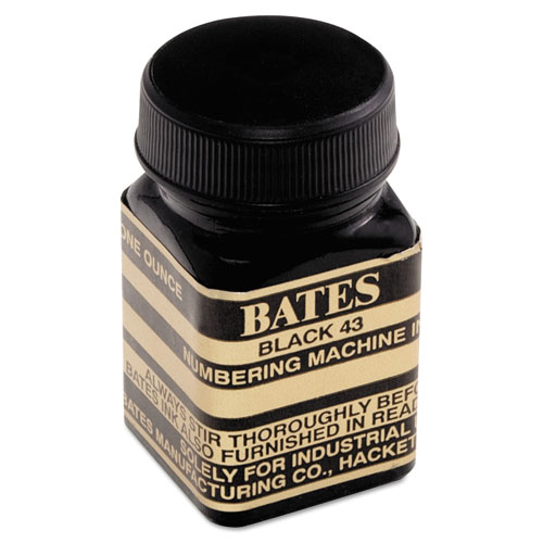 Image for Refill Ink For Numbering Machines, 1 Oz Bottle, Black