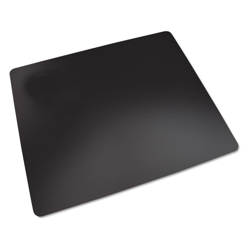 RHINOLIN II DESK PAD WITH ANTIMICROBIAL PROTECTION, 36 X 20, BLACK