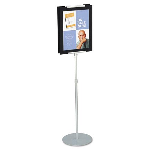 Adjustable Sign Stand, Metal, Stands 44