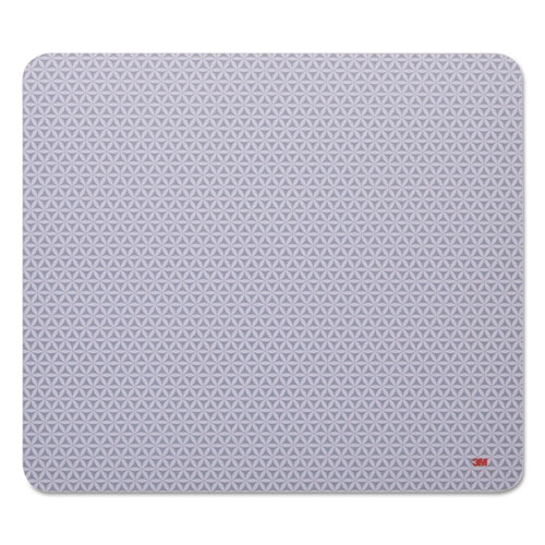 Precise Mouse Pad, Nonskid Back, 9 X 8, Gray/bitmap