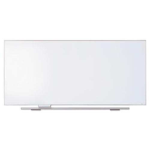 Polarity Porcelain Dry Erase Board, 96 X 44, Aluminum Frame