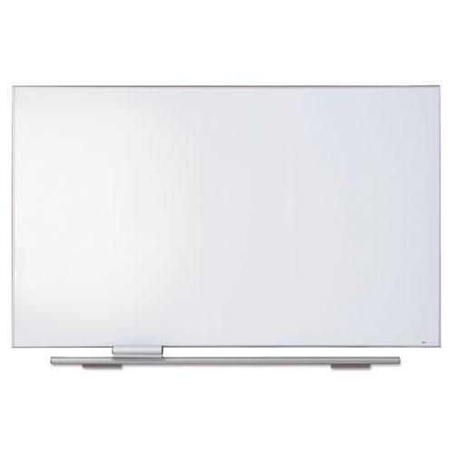 Polarity Porcelain Dry Erase Board, 72 X 44, Aluminum Frame