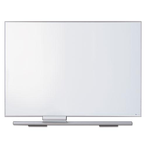 Polarity Porcelain Dry Erase Board, 48 X 34, Aluminum Frame