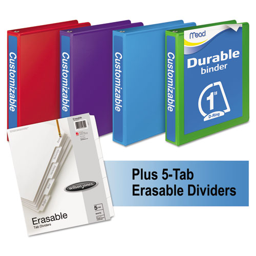 DURABLE D-RING VIEW BINDER PLUS PACK, 3 RINGS, 1