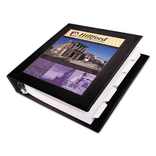 FRAMED VIEW HEAVY-DUTY BINDERS, 3 RINGS, 1.5