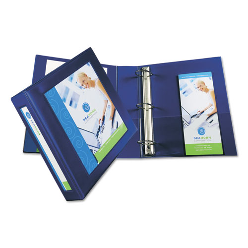 FRAMED VIEW HEAVY-DUTY BINDERS, 3 RINGS, 2