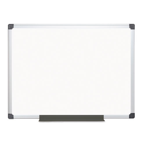 Porcelain Value Dry Erase Board, 36 X 48, White, Aluminum Frame