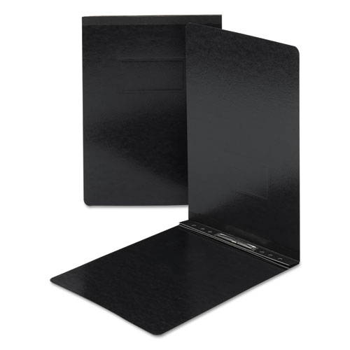 Top Opening Pressboard Report Cover, Prong Fastener, 11 X 17, Black